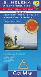 Saint-Lucia Road Map (ISBN: 9789638746542)