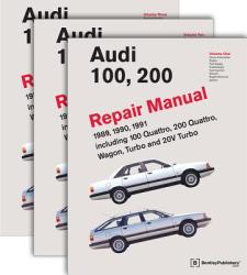 Audi 100, 200 Repair Manual--1989-1991: Including 100 Quattro, 200 Quattro, Wagon, Turbo and 20-Valve Models (ISBN: 9780837603728)