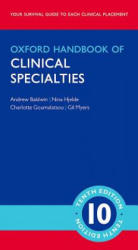 Oxford Handbook of Clinical Specialties - Mini Edition - Andrew Baldwin (ISBN: 9780198719021)