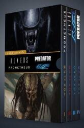 Tűz és kő - Díszdoboz/Aliens és predátor 1-4. (ISBN: 9789634974673)