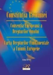 Constitutia Romaniei Ed. 9 2018 (ISBN: 9786068794761)