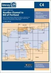 Imray Chart C4. Needles Channel to Bill of Portland, Paperback (ISBN: 9781846239076)