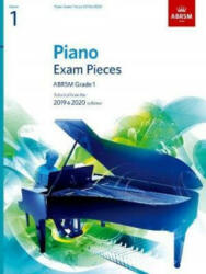 Piano Exam Pieces 2019 & 2020, ABRSM Grade 1 (ISBN: 9781786010193)