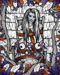 Adult Coloring Book Horror Land: Asylum (ISBN: 9781943684885)