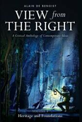 View from the Right, Volume I - Alain De Benoist (ISBN: 9781912079971)