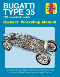 Bugatti Type 35 Owners Workshop Manual (ISBN: 9781785211836)