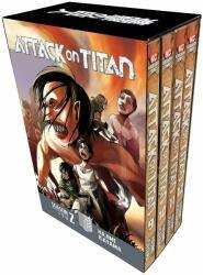 Attack On Titan Season 2 Manga Box Set - Hajime Isayama (ISBN: 9781632367013)