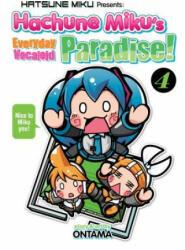 Hatsune Miku Presents: Hachune Miku's Everyday Vocaloid Paradise Vol. 4 (ISBN: 9781626928336)