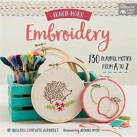 Lunch-Hour Embroidery - Adrienne Smitke (ISBN: 9781604688986)