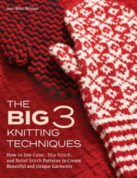 The Big 3 Knitting Techniques: How to Use Color, Slip Stitch, and Relief Stitch Patterns to Create Beautiful and Unique Garments (ISBN: 9781570769030)