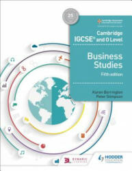 Cambridge IGCSE and O Level Business Studies 5th edition (ISBN: 9781510421233)