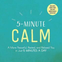 5-Minute Calm (ISBN: 9781507206300)