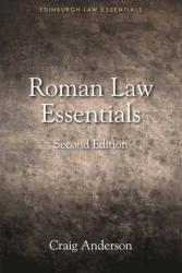 Roman Law Essentials (ISBN: 9781474425087)