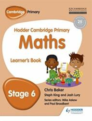 Hodder Cambridge Primary Maths Learner's Book 6 (ISBN: 9781471884429)