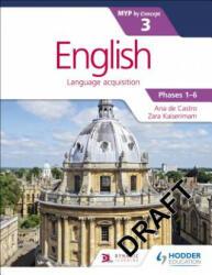 English for the IB MYP 3 (ISBN: 9781471880674)