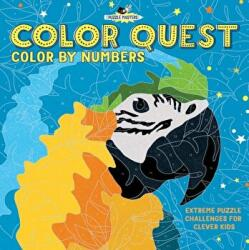 Color Quest: Color by Numbers: Extreme Puzzle Challenges for Clever Kids - Amanda Learmonth (ISBN: 9781438011462)