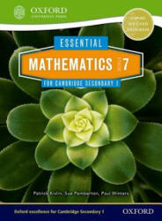Essential Mathematics for Cambridge Secondary 1 Stage 7 Pupil Book (ISBN: 9781408519837)