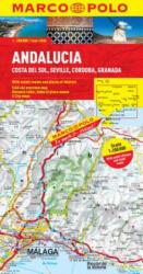 Andalusia, Costa Del Sol, Seville, Cordoba, Granada Marco Polo Map, Sheet Map (ISBN: 9783829767552)