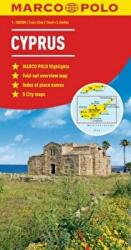 Cyprus Marco Polo Map (ISBN: 9783829767538)