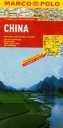 China Marco Polo Map (ISBN: 9783829767439)