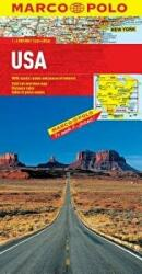 USA Marco Polo Map (ISBN: 9783829767392)