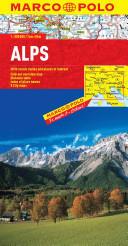 Alps Marco Polo Map (ISBN: 9783829767187)