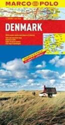 Denmark Marco Polo Map (ISBN: 9783829767125)