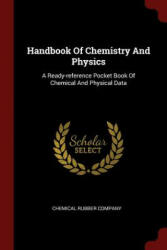 Handbook of Chemistry and Physics - CHEMICAL RU COMPANY (ISBN: 9781376187922)