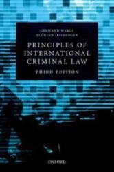 Principles of International Criminal Law (ISBN: 9780198703600)