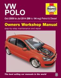 VW Polo Petrol And Diesel (Oct 09 - Jul 14) 59 To 14 - Peter Gill (ISBN: 9780857336385)