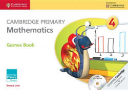 Cambridge Primary Mathematics Stage 4 Games Book with CD-ROM (ISBN: 9781107685420)