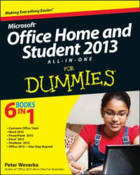 Microsoft Office Home & Student Edition 2013 All-in-One For Dummies (ISBN: 9781118516379)