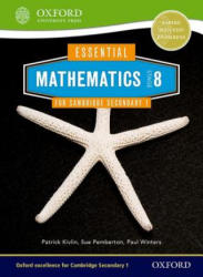 Essential Mathematics for Cambridge Secondary 1 Stage 8 Pupil Book (ISBN: 9781408519868)