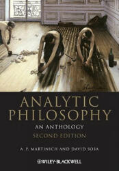 Analytic Philosophy - An Anthology (ISBN: 9781444335705)