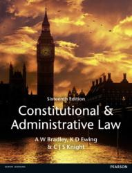 Constitutional and Administrative Law (ISBN: 9781447904212)