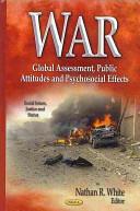 War - Global Assessment, Public Attitudes and Psychosocial Effects (ISBN: 9781626181991)