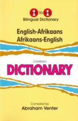 Venter, A: English-Afrikaans & Afrikaans-English One-to-One Dictionary (ISBN: 9781908357229)