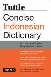 Tuttle Concise Indonesian Dictionary - A. L. N. Kramer, Willie Koen (ISBN: 9780804844772)