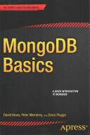 MongoDB Basics (ISBN: 9781484208960)