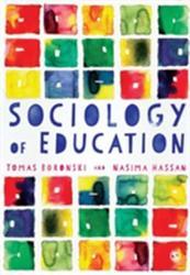 Sociology of Education - Tomas Boronski, Nasima Hassan (ISBN: 9781446272893)
