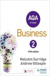 AQA Business for A Level 2 (ISBN: 9781471835780)