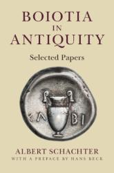 Boiotia in Antiquity (ISBN: 9781107053243)