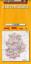 09 - Extremadura Road Map 1: 250, 000 (ISBN: 9788495788191)