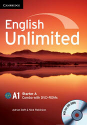 English Unlimited Starter A Combo with DVD-ROM (ISBN: 9781107661349)