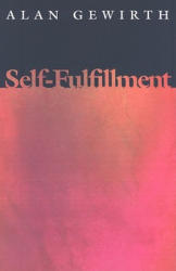 Self-Fulfillment (ISBN: 9780691144405)