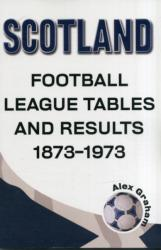 Scotland - Football League Tables & Results 1873 to 1973 - Alex Graham (ISBN: 9781862232587)