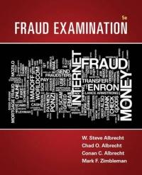 Fraud Examination (ISBN: 9781305079144)