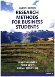 Research Methods for Business Students (ISBN: 9781292016627)