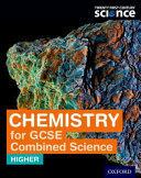 21C GCSE COMBINED SCIENCES HIGHER CHEMIS (ISBN: 9780198359524)