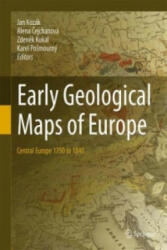 Early Geological Maps of Europe - Central Europe 1750 to 1840 (ISBN: 9783319224879)